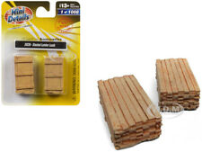 STACKED LUMBER LOADS ACCESSORY 2 PC SET 1/87 (HO) BY CLASSIC METAL WORKS 20226