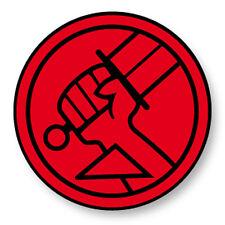 Pin Button Badge Ø38mm Hellboy Démon Enfer Comics