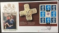Buckingham  6.2.2002 Golden Jubilee FDC PSB, Signed LORD LICHFIELD, Ltd 1/91