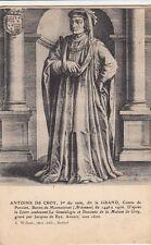 MONCORNET Antoine de Croy dit le Grand comte de porcien photo-éd wilmet timbrée