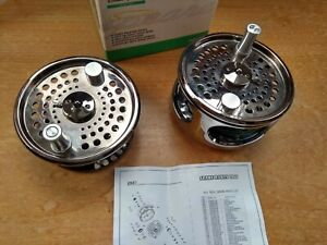 Shakespeare Summit Salmon fly reel with disc drag, boxed with spare spool