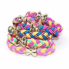 5X Lot Girl's Elastic Hair Ties Rope Ponytail Holders Stretchy Rubber Hair Band