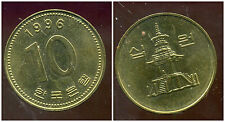 COREE DU SUD  10 won  1996