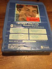 New listing Bobby Vinton/ Melodies Of Love 1974 Abc Records 8 Track Tape