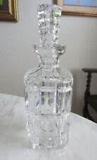 Vintage Waterford Crystal Diamond Square Decanter