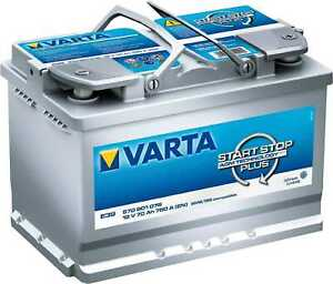Batterie VARTA Start-Stop Silver Dynamic AGM 70Ah/760A (E39)