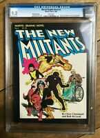 Marvel Graphic Novel #4 $5.95 PRICE VARIANT 1st Appearance New Mutants CGC 9.2