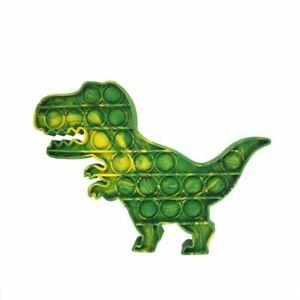 New Fidget Toys Push Pop Bubble Silicone Toy Dinosaur  Stress Relief Sensory Toy