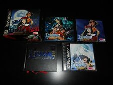 Lunar 2 II Eternal Blue Complete PS1 Playstation 1 Game Boxed