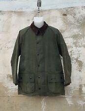 vtg Barbour beaufort 40/102cm mens wax coat jacket A230 made in England oliver