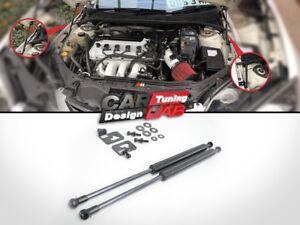 Black Strut Gas Lift Hood Shock Damper Kit for 2007-2009 Mazda 3 5D Hatchback