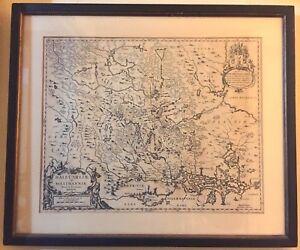Dalecarliae and Westmannia, Vplandia, Moses Pitt [Dual side cartograph] ca 1680