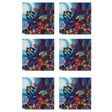6x Maxwell & Williams Melanie Hava 10cm Tile Ceramic Drink Coaster Wonderland