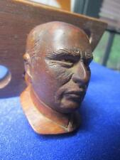 Vintage Staletoco French Hand Carved Pipe Figural Head, France