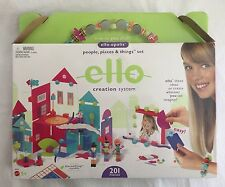 ello Creation System Mattel People, Places & Things Set 201pc
