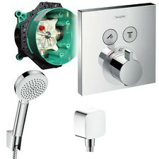 Hansgrohe Shower Select Unterputz Thermostat Badewannenarmatur Set ibox Armatur