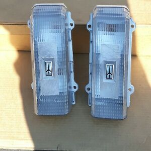 1983, 1984, 1985, 1986 Oldsmobile Cutlass Custom Clear NEW Tail Light Set!