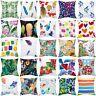 "18""*18"" Pillow Case Garden Covers Decoration Home Flower Outdoor Floral Cushion"