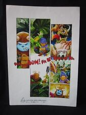 Under Where Underwhere Mark Martin Kevin Eastman Painted Original art page 17