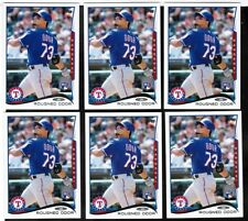 (6) ct 2014 Topps Update #US276 Rougned Odor Rookie Lot (ref 29736)