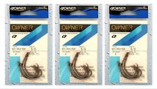 (3) Packs Owner Super Needle Point Mutu Circle Hooks 5/0 Hook 5163-151 New