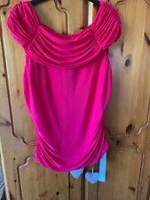 Joanna Hope Bright Pink Top Wedding Christening Special Size 14