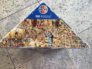 Puzzle Hugo Prades Egypt, gebraucht von Heye
