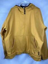 Columbia Titanium Mens Interchange Jacket XXL Yellow Softshell Outdoors