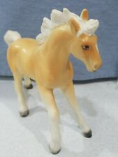 "Vintage Ceramic Porcelain Horse Figurine Made in Japan 5.5"" Tall EUC Collectible"