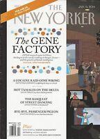 The New Yorker Magazine Gene Factory Drug Raid Storyboard P January 6 2014