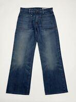 Gas luke jeans uomo usato gamba dritta relaxed W31 tg 45 comfort boyfriend T5539