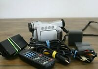 AS-IS Canon NTSC ZR45MC Mini DV Digital Video Camcorder With Extras Powers ON