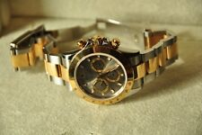 Beautiful!!! -- 116523 GOLD ROLEX  DAYTONA - Mens 40mm 18kt Gold & Stainless