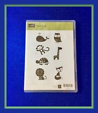 Stampin Up!  FOX and FRIENDS Whale, Owl, Monkey, Giraffe, Turtle, Lion & Fox!
