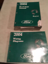 2008 Ford Focus Service Repair with Wiring Diagrams Manual Set