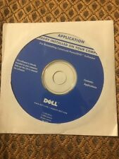 Dell Application For Reinstalling Cyberlink PowerDVD 5.5 Software CD NEW SEALED