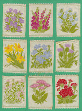 Incomplete Sets Loose Flowers/Garden Collectable Cigarette Cards
