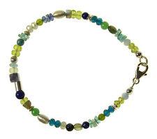 MULTI EDELSTEIN Armband Silber / MULTI Bracelet D906