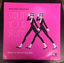 Strut Your Stuff: Music For Performing Arts LP Vinyl 1984 Ballet Tap Jazz Dance