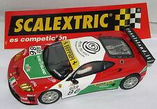 SCALEXTRIC 6202 FERRARI 360 GTC #86 G., ROSA-L.DRUDI-F.BABINI MINT UNBOXED