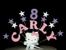 Hello Kitty Personalizzato Compleanno, Battesimo Cake Topper/Decorazione Personalizzata