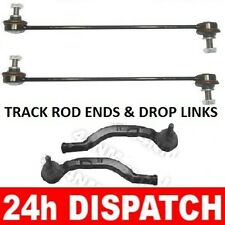 Drop Links & Outer Tie Track Rod Ends LEFT and RIGHT Renault Laguna II 2002-2007