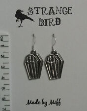 Rest In Peace! earrings coffin vampire gothic emo