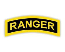 U.S. Army Ranger Hard Hat Decal / Sticker Vinyl Car Label Army Military USA