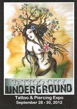 Tattoo Art Trading Cards P5 Promo Tattoo City Underground Show