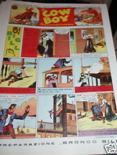 IL COW BOY-N°27 ANNO II-1945-BIG BILL-ED.DE LEO