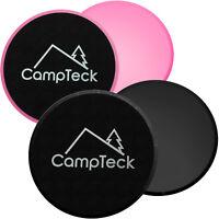 2x Doppelseitig Core Sliders Fitness Gliding Discs für Bauch Ganzkörper Training