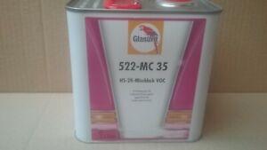 Glasurit 22 Line  522-MC35  2.5 litre HS Solid Colour Mixing Clear   BASF