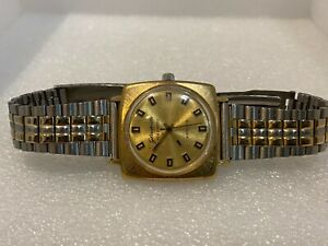 Vintage Glashütte Spezimatic 26 Rubis Armbanduhr