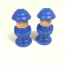 Backoff Back Off Buzzard Game Parts 2 BLUE People Mover Explorer Pawns